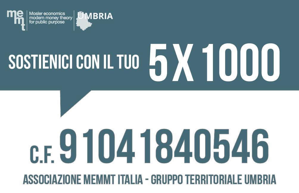 5x1000 MMT Umbria